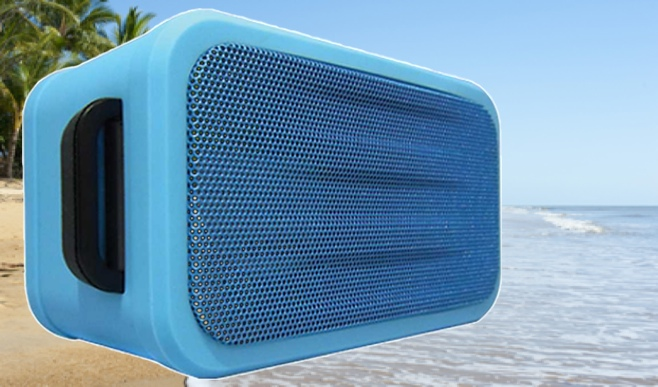 SoundStage Aqua Waterproof bluetooth speaker Background_2