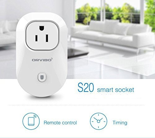 Orvibo S20 Control, smart plugs, security, reduce paranoia, Internet of things