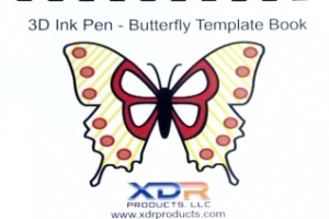 3D Pen Templates Butterfly Template Book